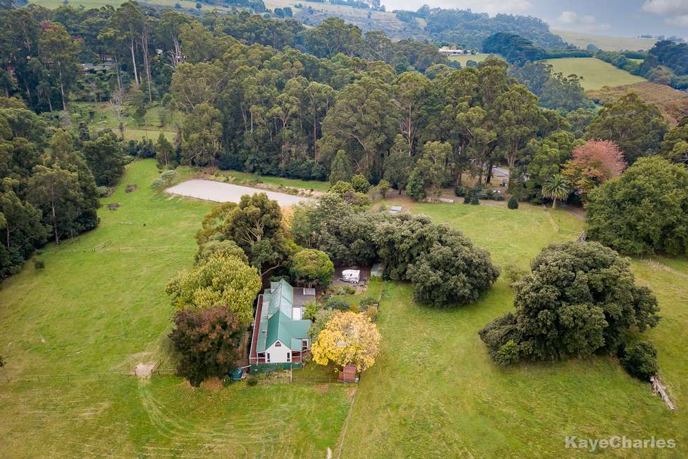 Second view of Homely acreageSemiRural listing, 1 Edzell Road, Clematis VIC 3782