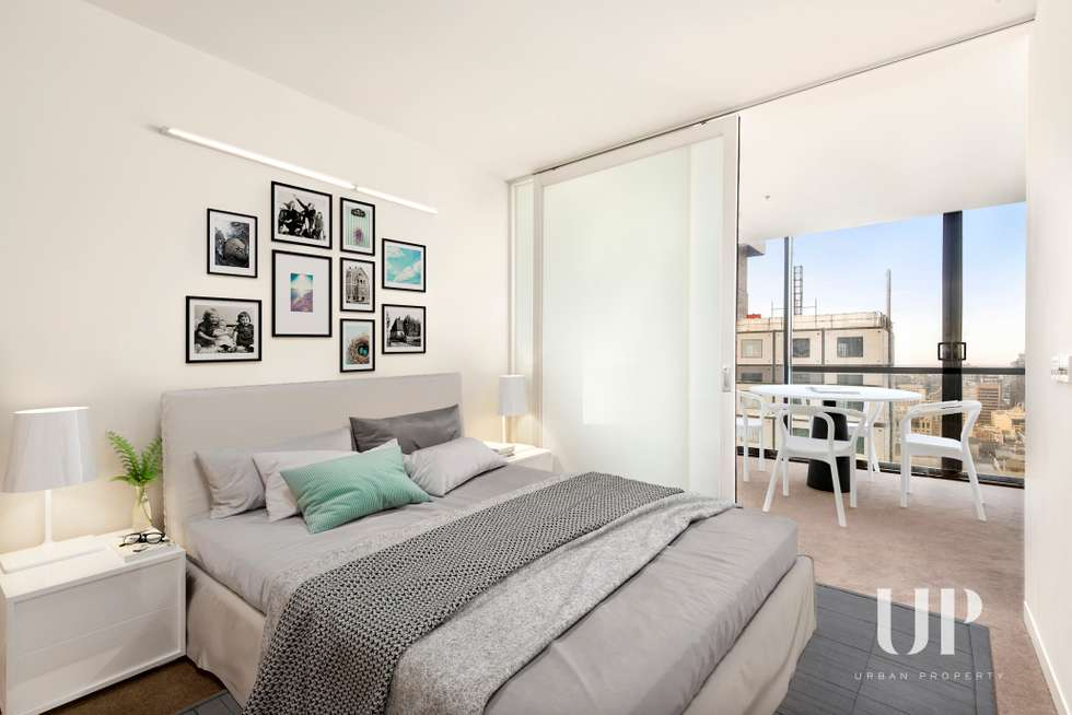 Second view of Homely apartment listing, 2903/31 A'Beckett Street, Melbourne VIC 3000