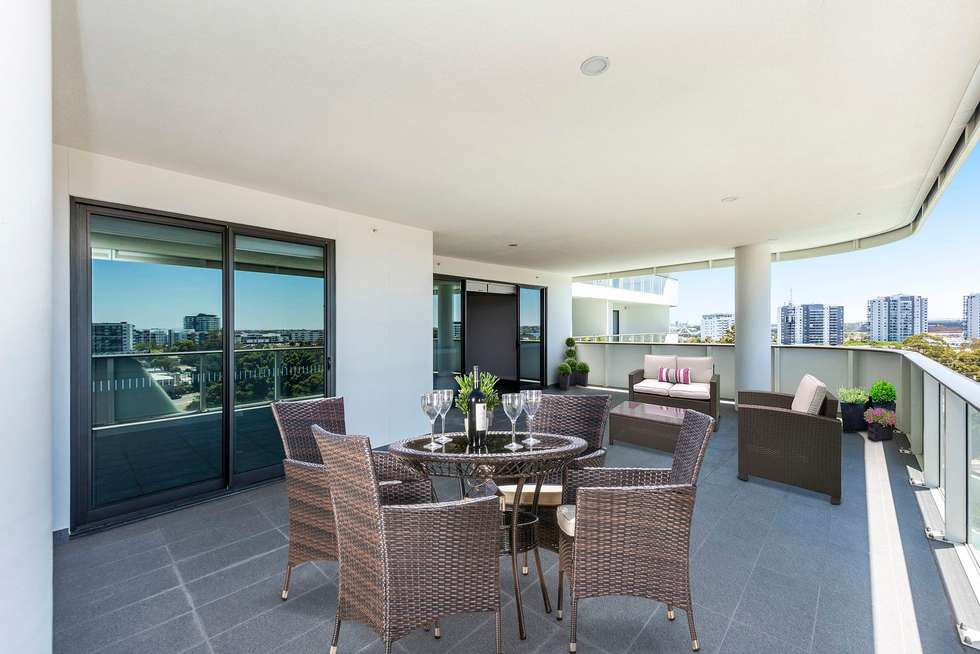Fifth view of Homely apartment listing, 605/118 Goodwood Parade, Burswood WA 6100