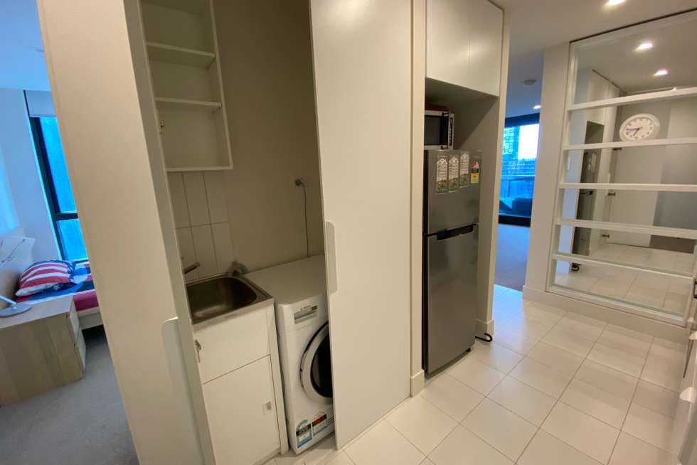 Third view of Homely apartment listing, 2910/500 Elizabeth Street, Melbourne VIC 3000
