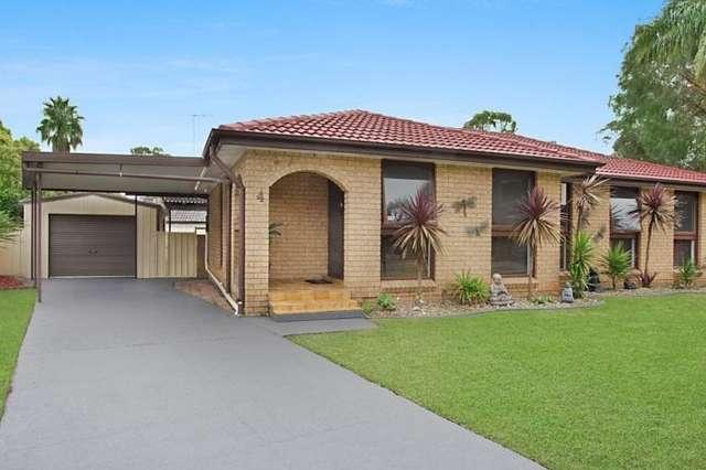 4 Belbowrie Glen, St Clair NSW 2759