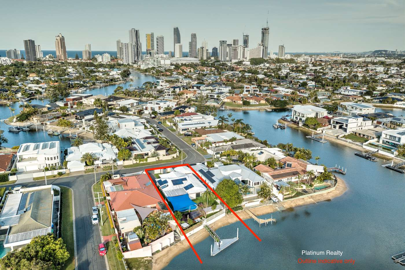 Main view of Homely house listing, 33 Beverley Crescent, Broadbeach Waters QLD 4218