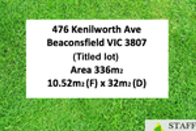 476 Kenilworth Ave, Beaconsfield VIC 3807