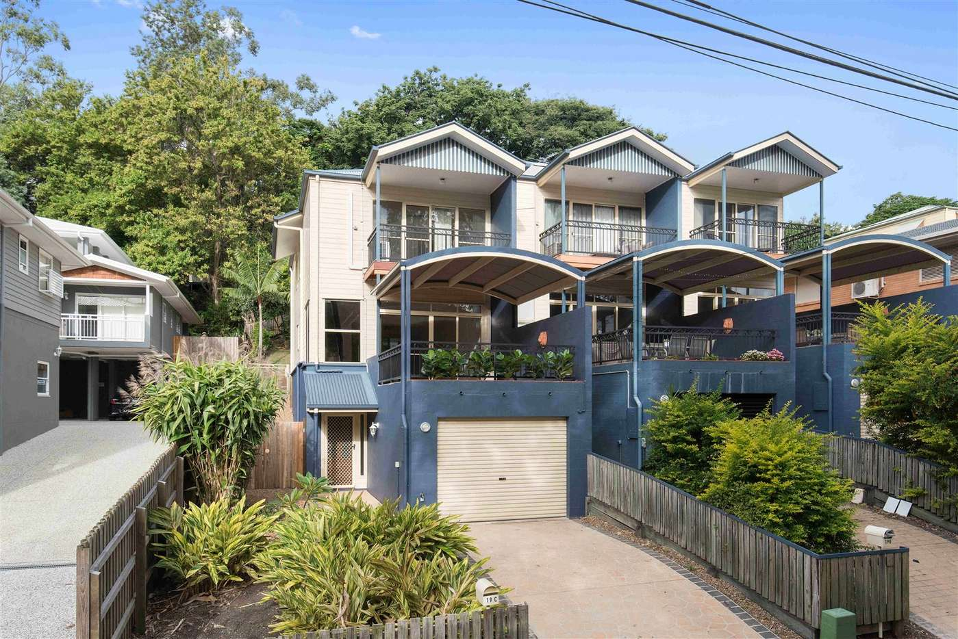 Main view of Homely townhouse listing, 19C Forrester Tce, Bardon, QLD 4065