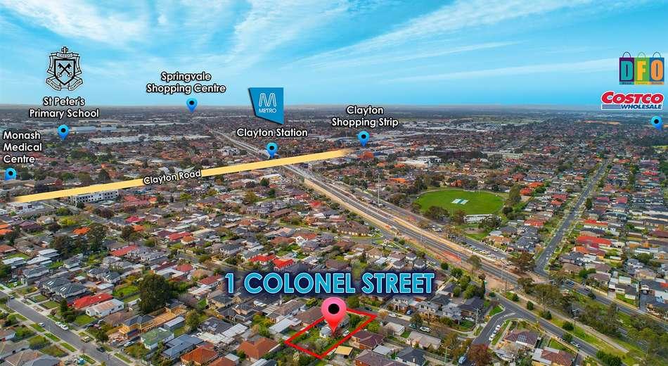 1 Colonel Street