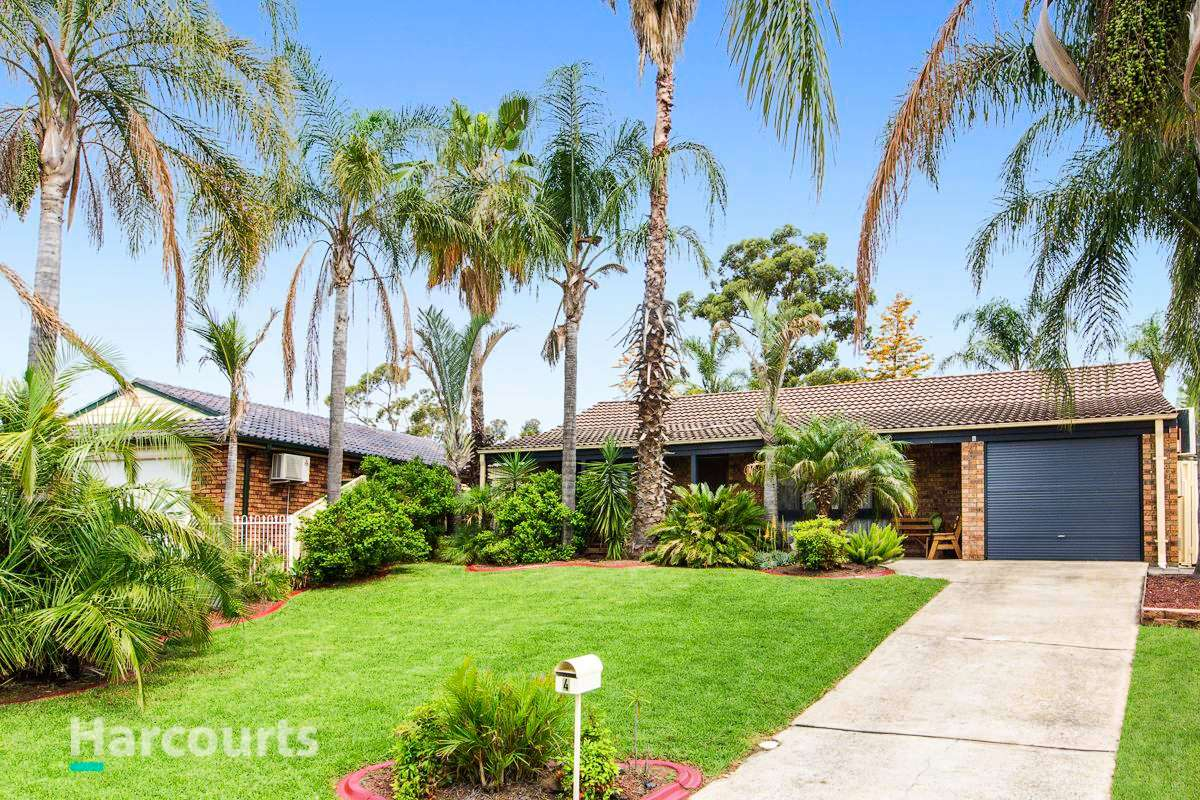Main view of Homely house listing, 4 Mcintyre Avenue, St Clair, NSW 2759