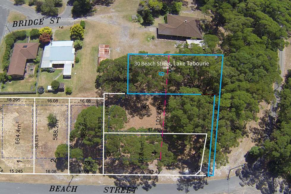 Second view of Homely residentialLand listing, 30 Beach Street, Lake Tabourie NSW 2539
