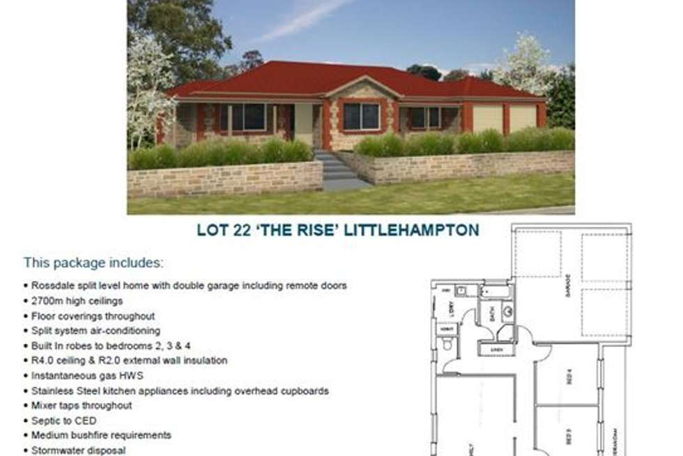 Fourth view of Homely residentialLand listing, Lot 22 Fiora Court, Littlehampton SA 5250