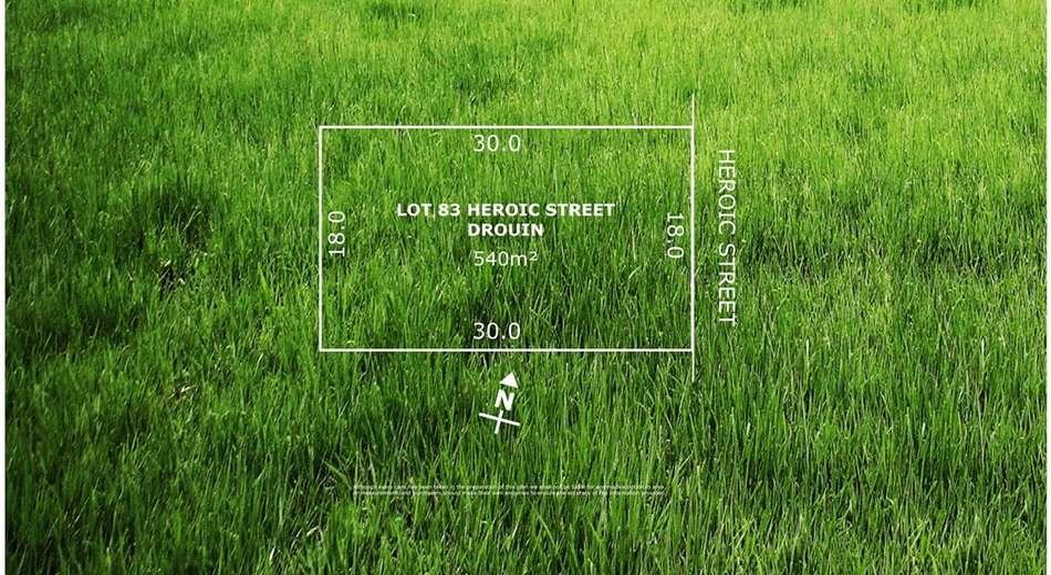 Lot 83 Heroic Street, Drouin VIC 3818