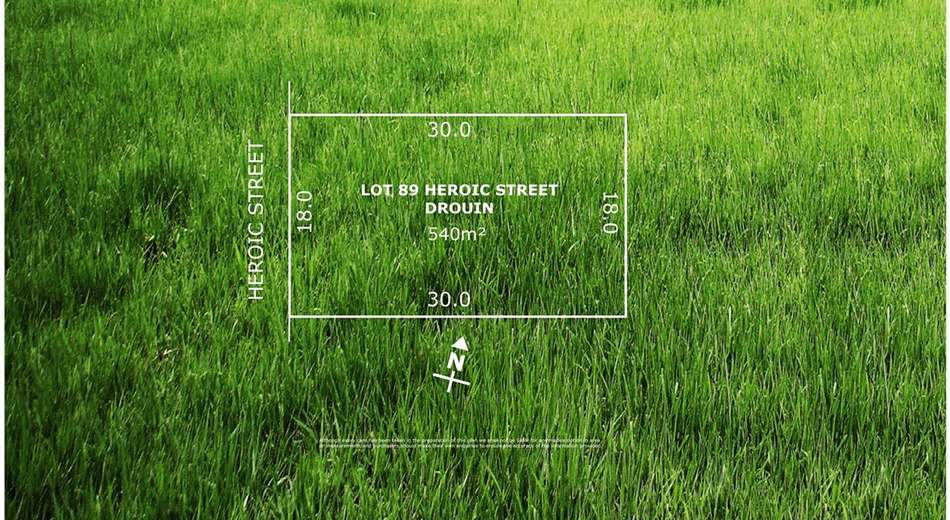 Lot 89 Heroic Street, Drouin VIC 3818