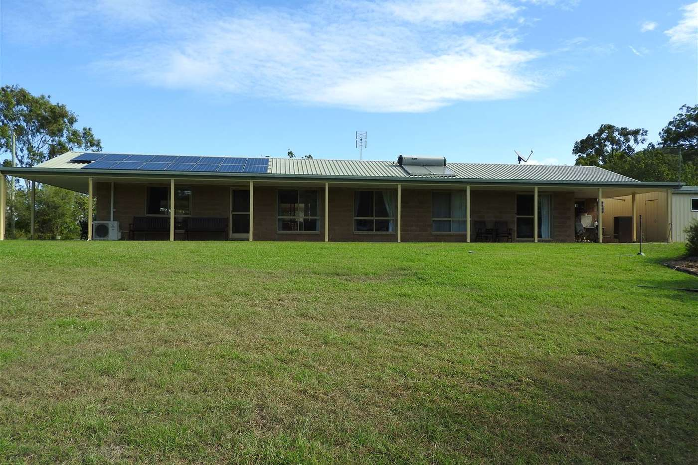 Main view of Homely acreageSemiRural listing, 114 Clinton Road, Cawarral QLD 4702