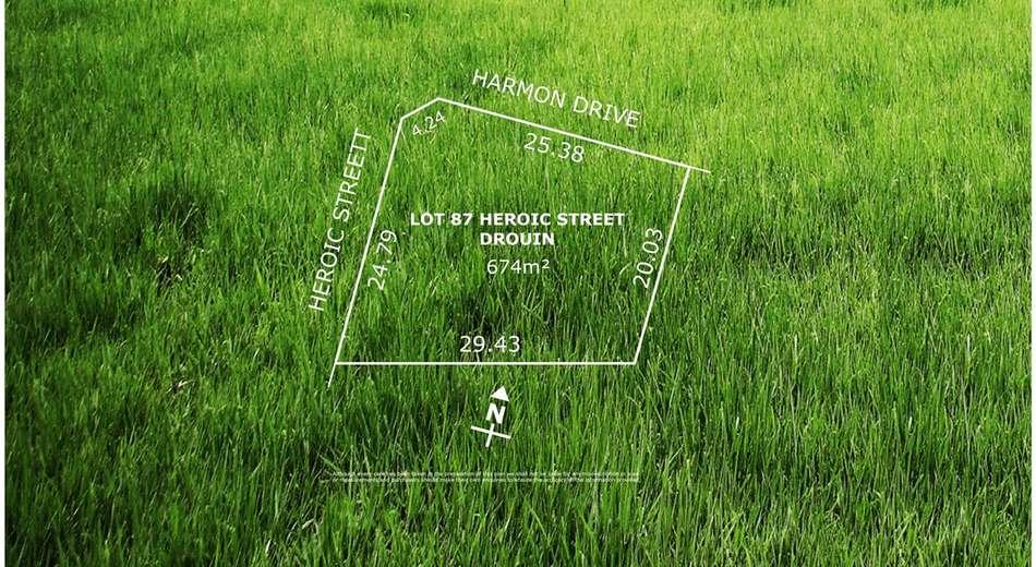 Lot 87 Heroic Street, Drouin VIC 3818