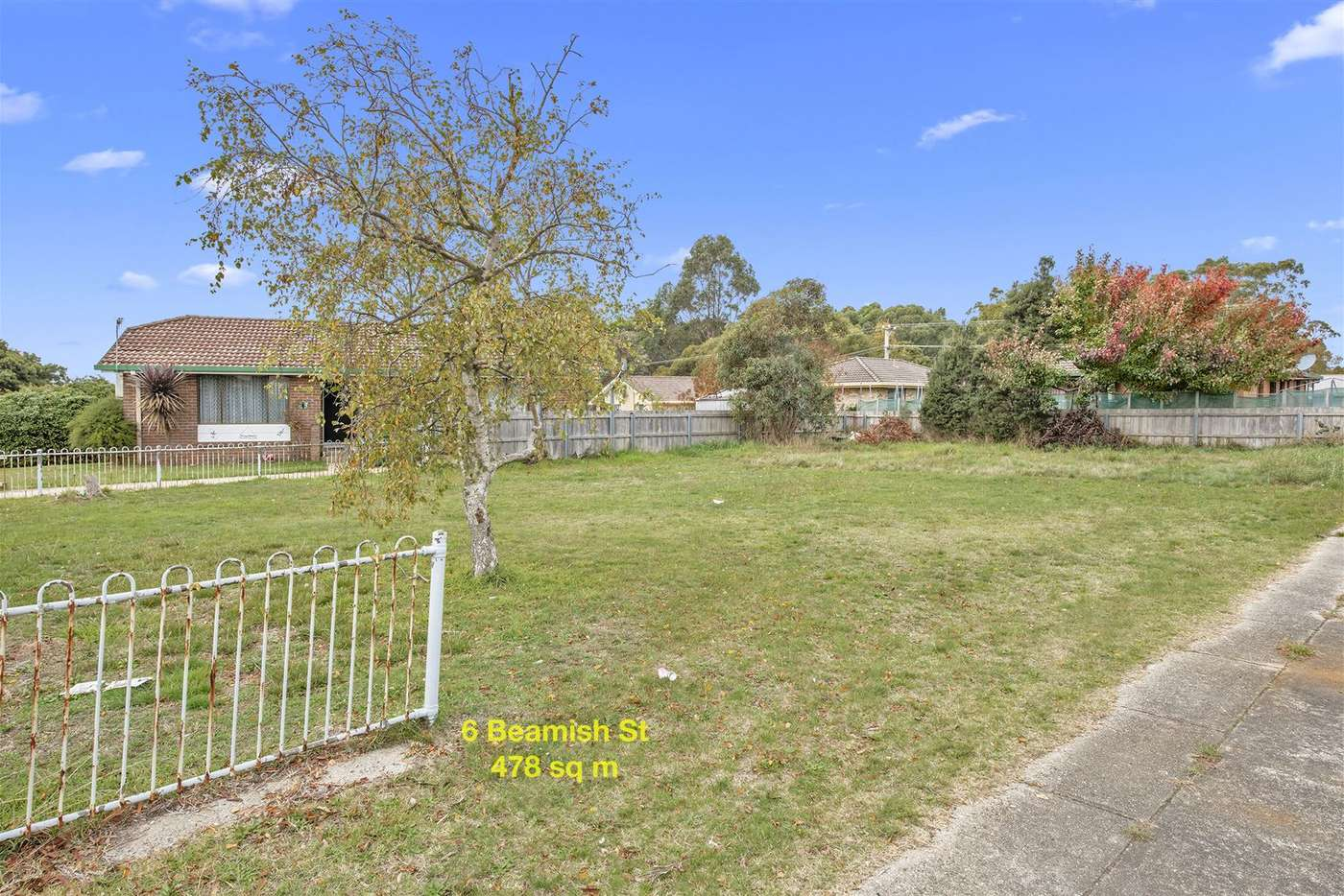 Main view of Homely residentialLand listing, 6 Beamish Avenue, Wynyard TAS 7325