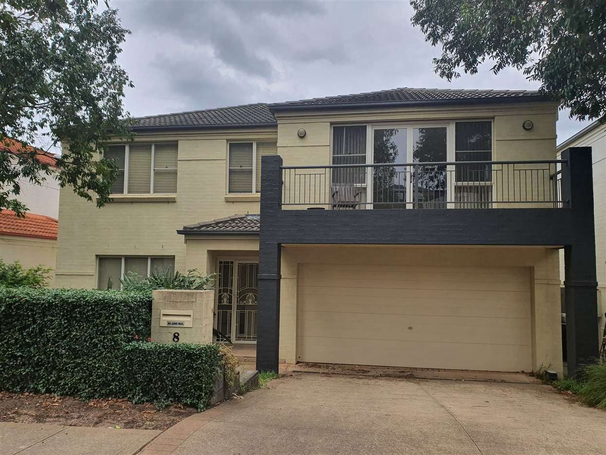 Main view of Homely house listing, 8 Seaford Cct, Kellyville Ridge, NSW 2155