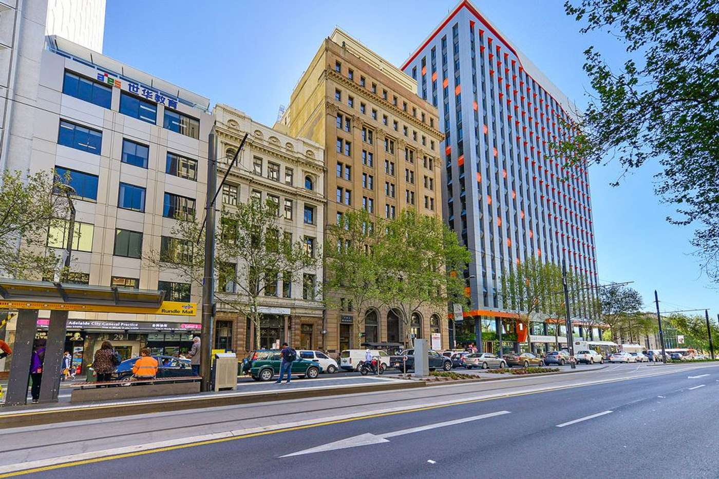 Main view of Homely studio listing, 709/23 King William Street, Adelaide SA 5000