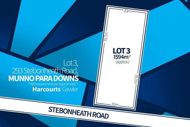 Lot 3 Stebonheath Road, Munno Para Downs SA 5115