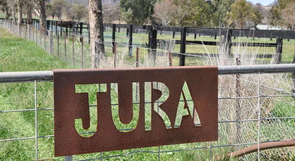 ". ""Jura"" Waverley Rd, Gundy via"