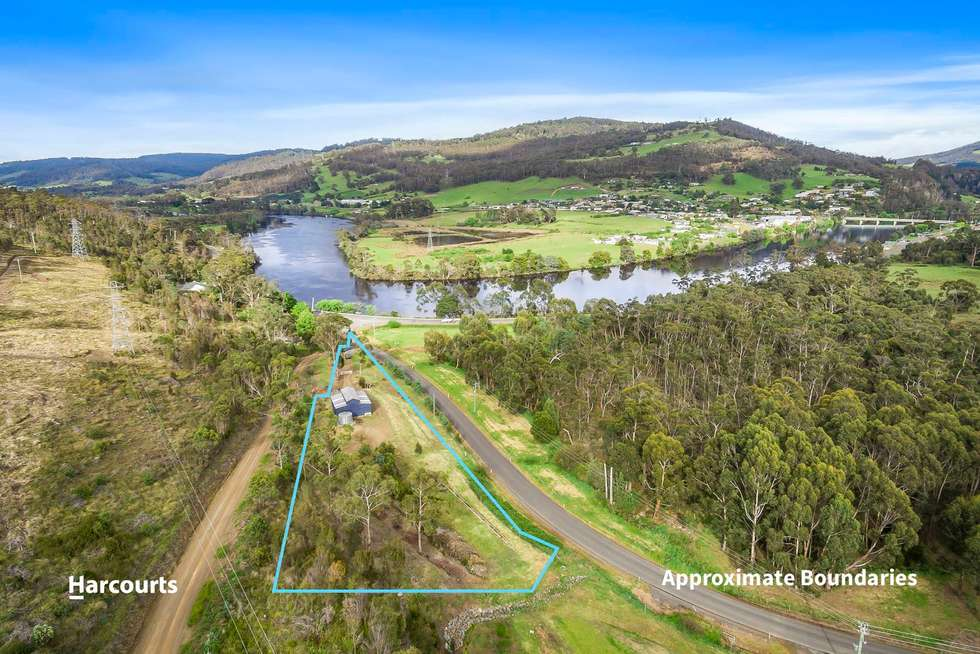Second view of Homely residentialLand listing, 125 Flood Road, Huonville TAS 7109