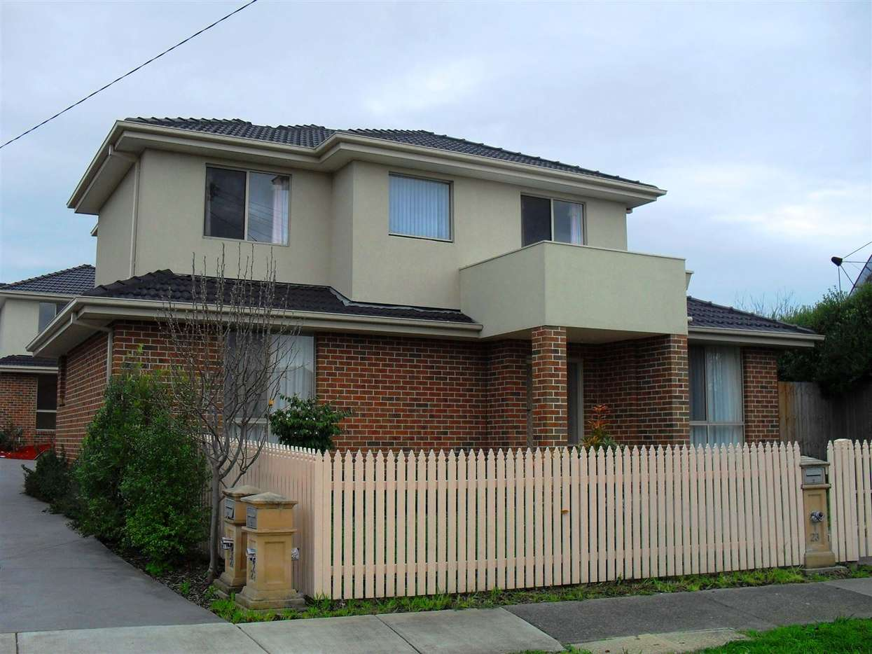 Main view of Homely townhouse listing, 1/23 Petter Street, Glen Waverley, VIC 3150