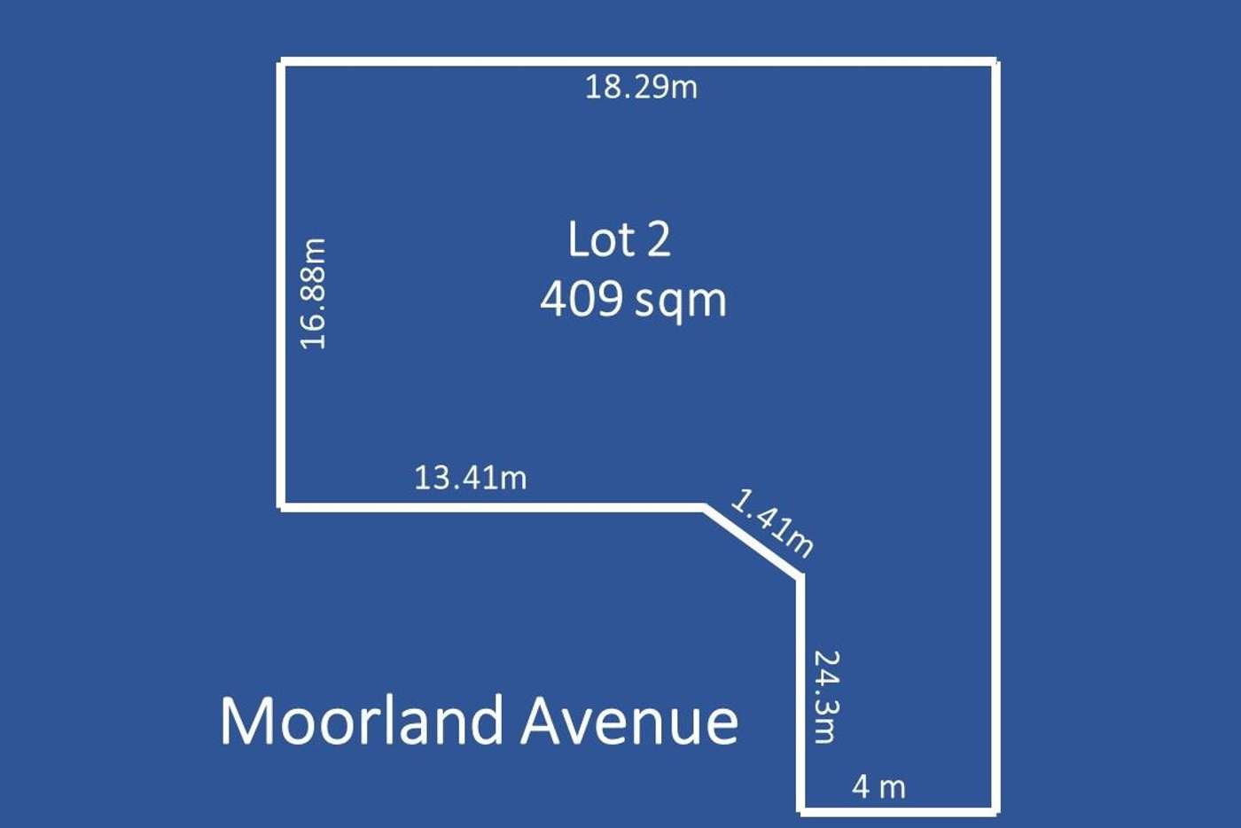 Main view of Homely residentialLand listing, Lot 2,  7 Moorland Avenue, Beverley SA 5009