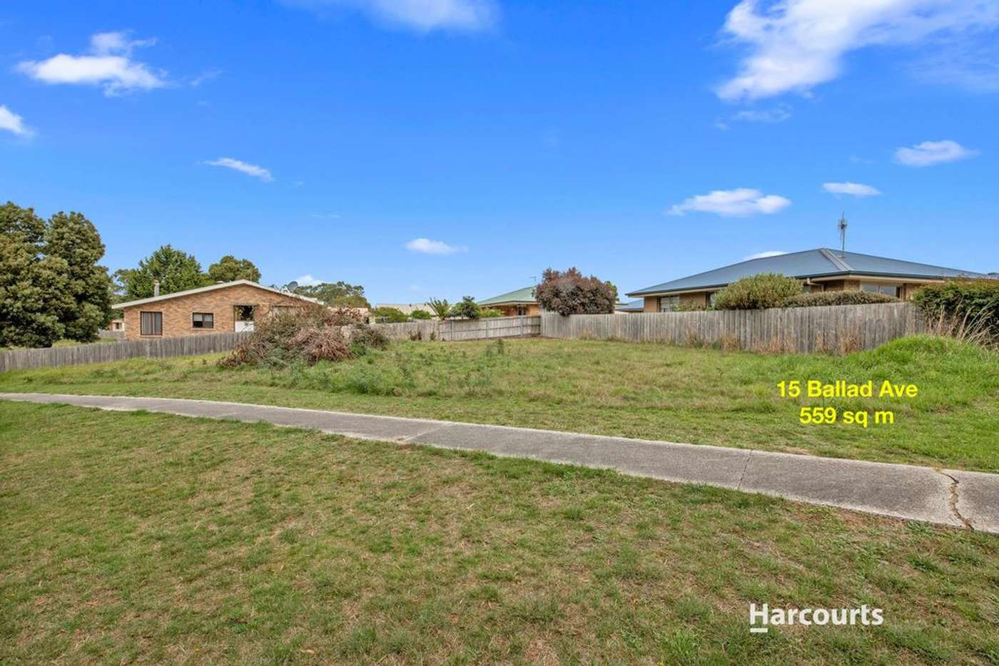 Main view of Homely residentialLand listing, 15 Ballad Avenue, Wynyard TAS 7325