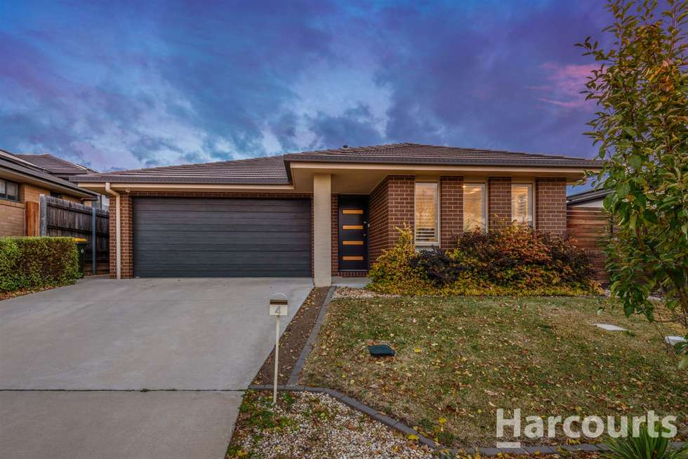 Second view of Homely house listing, 4 Lacewing Street, Wright ACT 2611