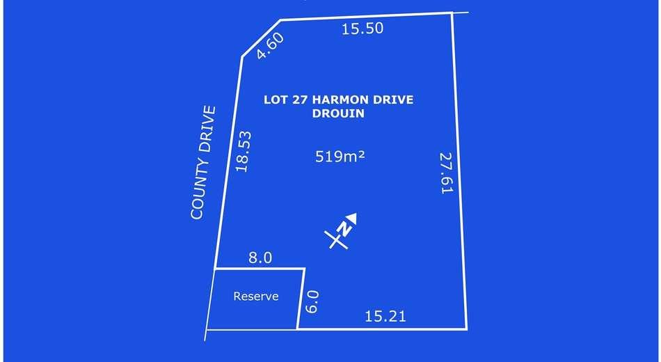 Lot 27 Harmon Drive, Drouin VIC 3818