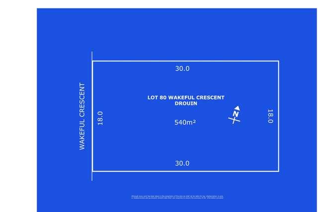 Lot 80 Wakeful Crescent, Drouin VIC 3818