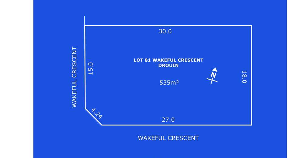 Lot 81 Wakfield Crescent, Drouin VIC 3818