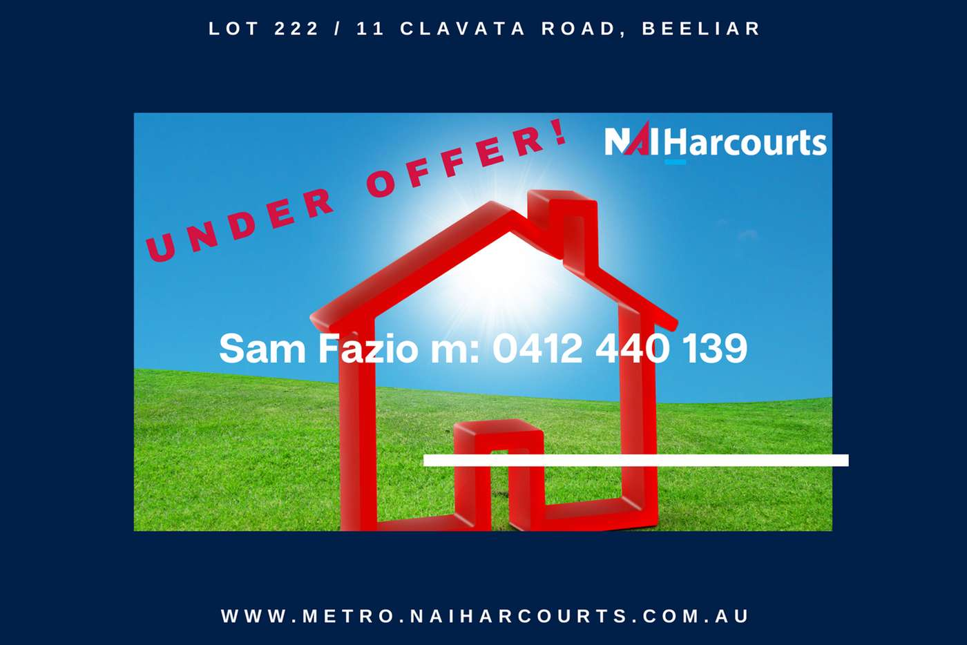 Main view of Homely residentialLand listing, Lot 222/11 Clavata Road, Beeliar WA 6164