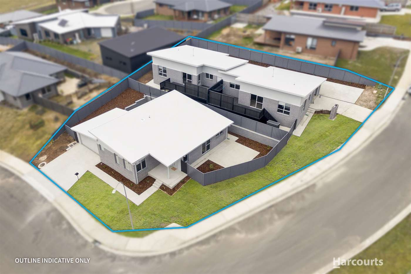 Main view of Homely unit listing, 2 & 3/13 Ridgeview Crescent, Riverside TAS 7250