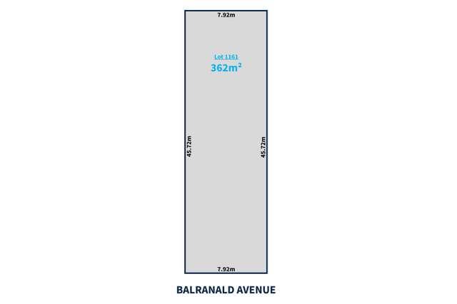 Lot 1161 Balranald Avenue, Largs Bay SA 5016