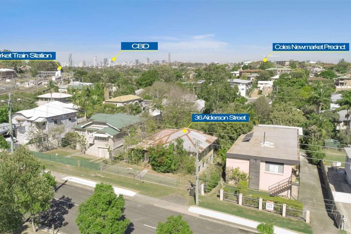 Main view of Homely house listing, 36 Alderson Street, Newmarket QLD 4051