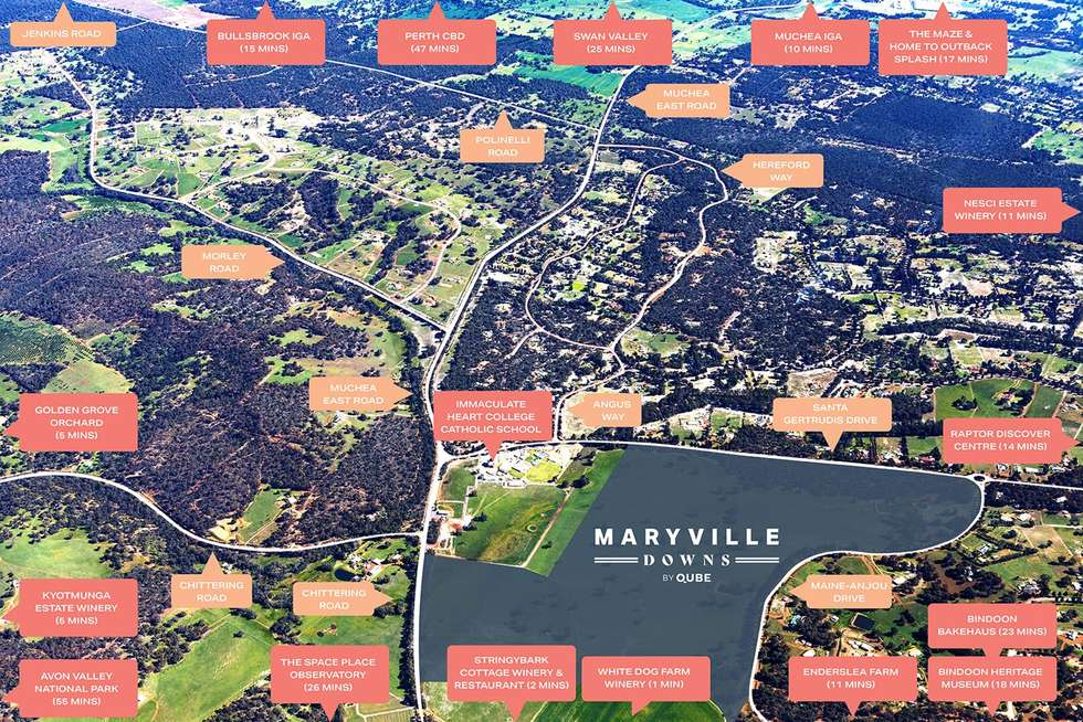 Fifth view of Homely residentialLand listing, Lot 18 Santa Gertrudis Drive, Lower Chittering WA 6084