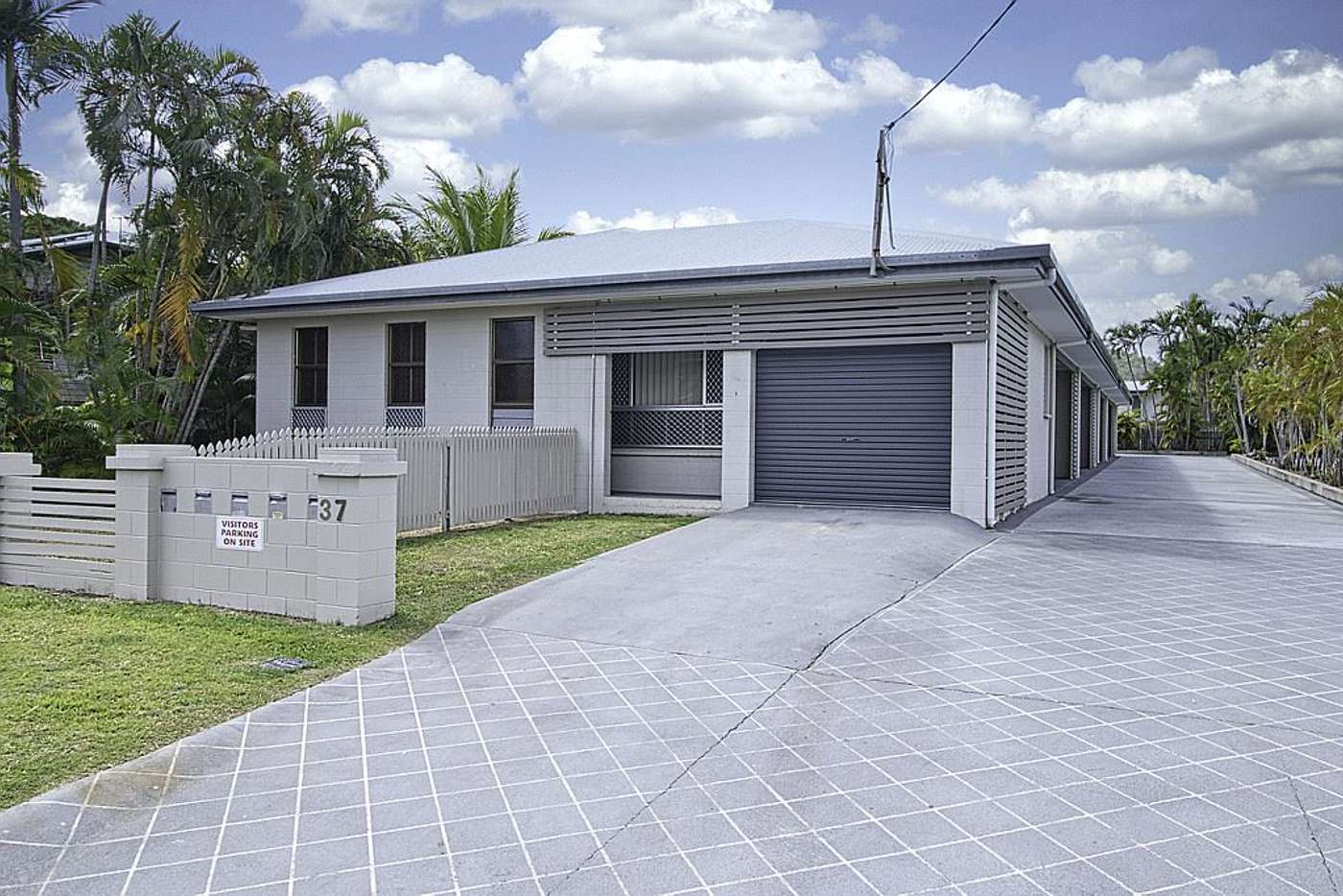 Main view of Homely unit listing, 1/37 Hugh Street, West End QLD 4810