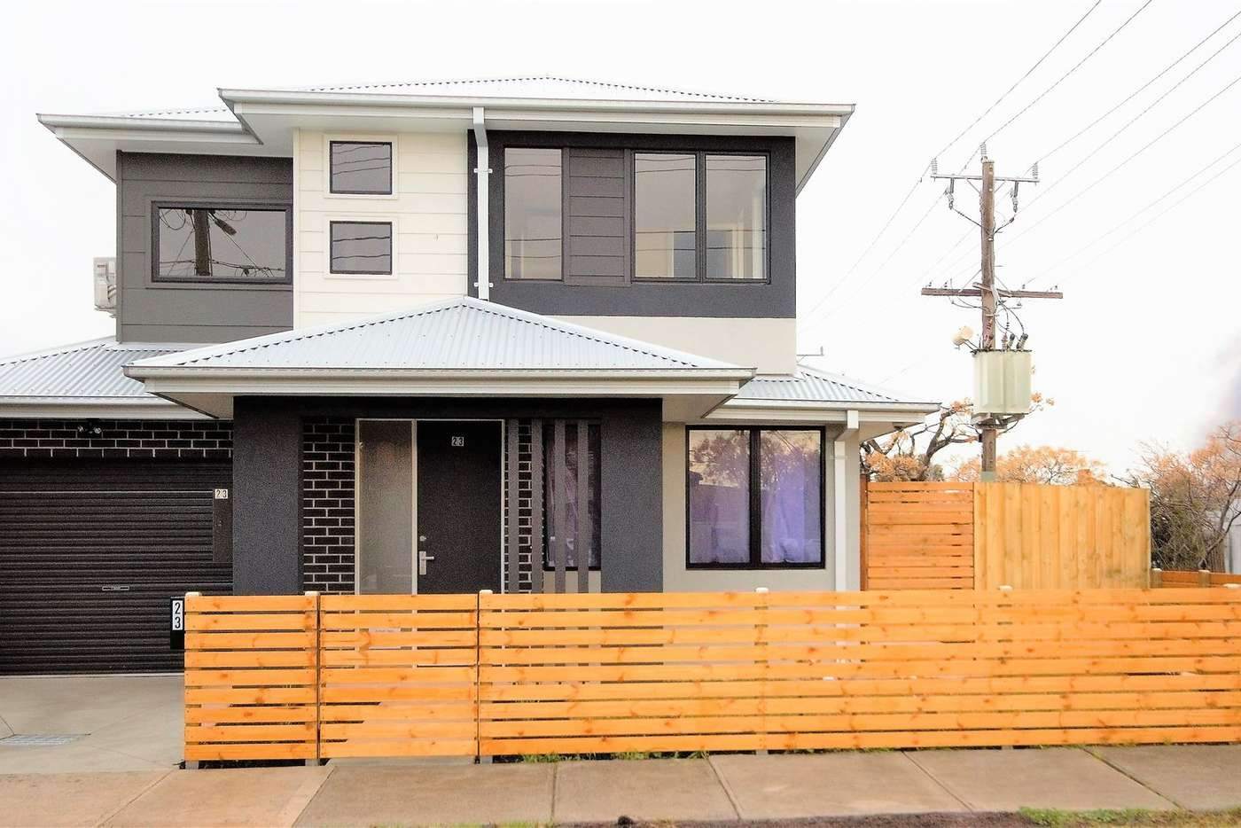 Main view of Homely townhouse listing, 23 Fontein St, West Footscray VIC 3012