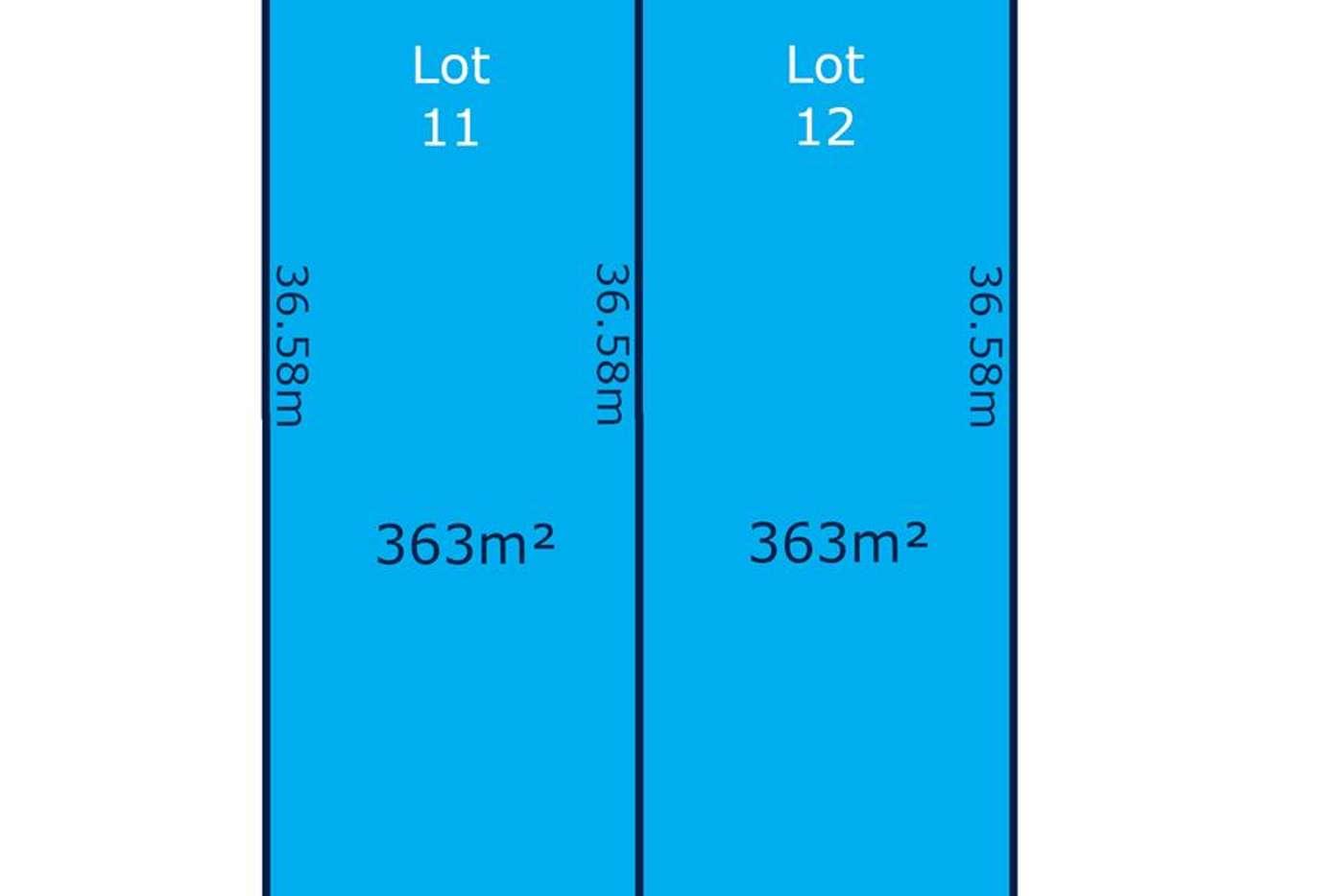 Main view of Homely residentialLand listing, Lot 11 & 12 209 O'Sullivan Beach Road, Morphett Vale SA 5162