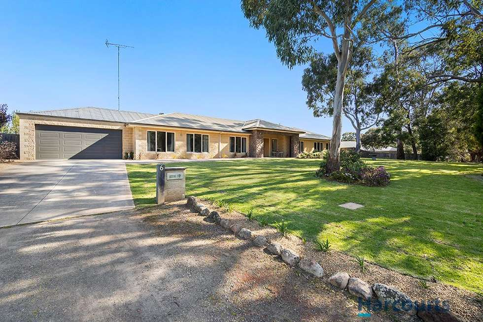 Second view of Homely house listing, 6 Longs Hill Road, Brown Hill VIC 3350