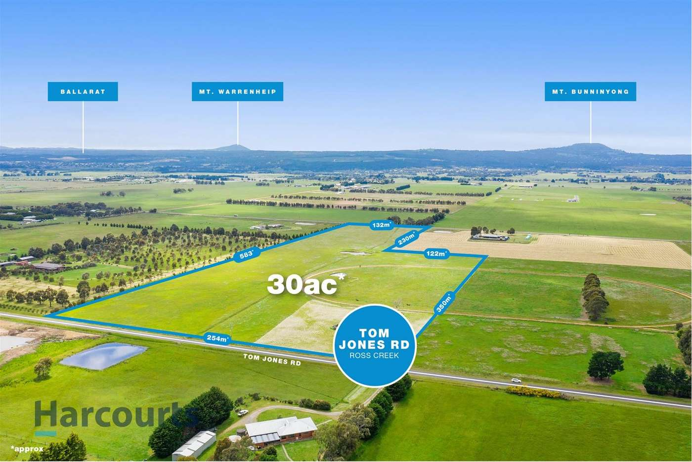 Main view of Homely residentialLand listing, Lot 4, 179 Tom Jones Road, Ross Creek VIC 3351
