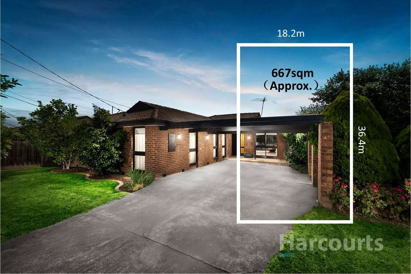 Main view of Homely house listing, 12 Minerva Crescent, Vermont South VIC 3133