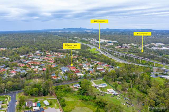 3 Mannix Place, Forest Lake QLD 4078