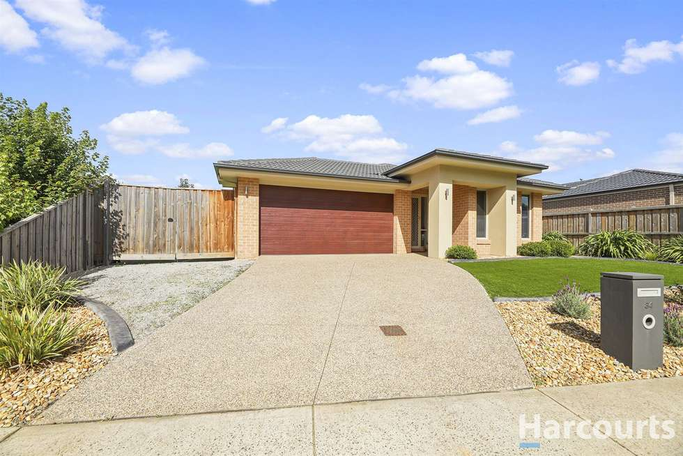 Third view of Homely house listing, 34 Nickell Court, Drouin VIC 3818