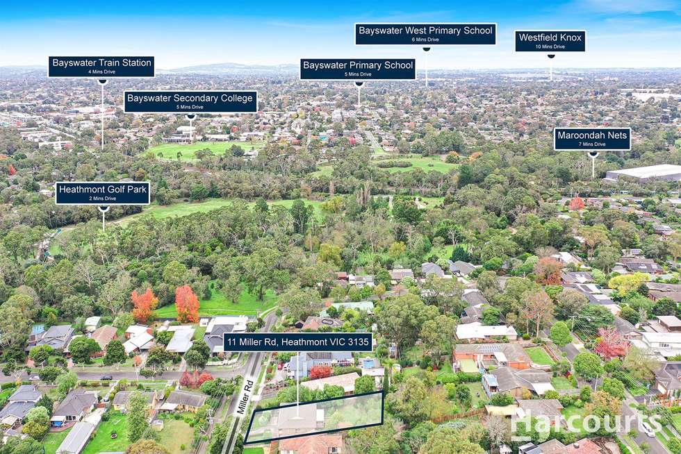 Second view of Homely house listing, 11 Miller Road, Heathmont VIC 3135