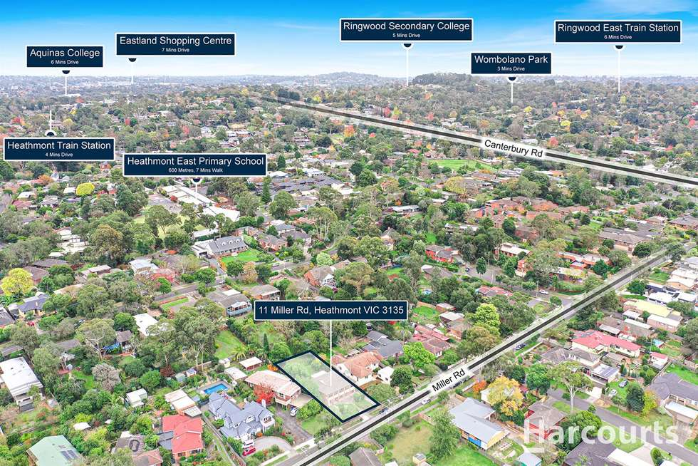 Third view of Homely house listing, 11 Miller Road, Heathmont VIC 3135
