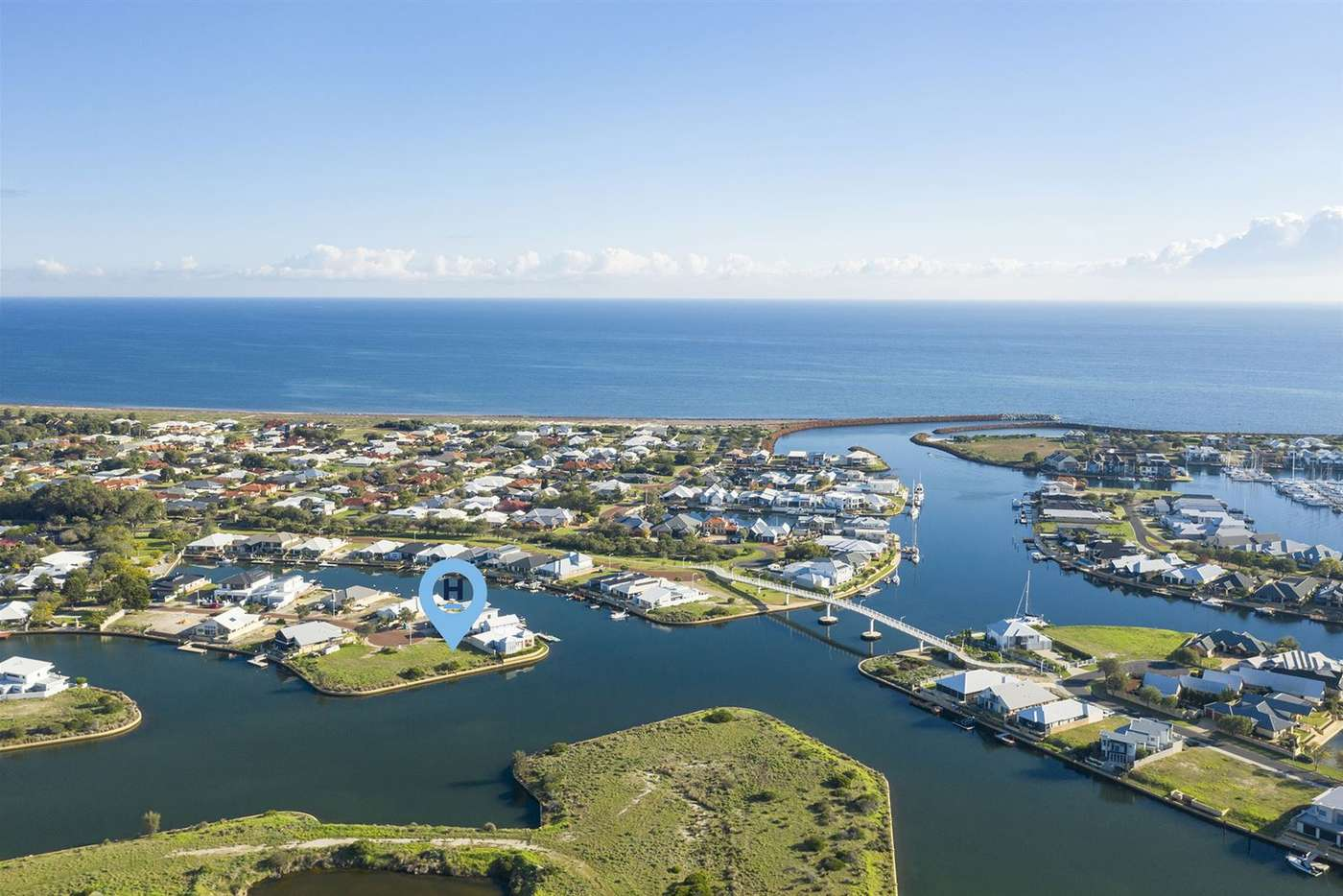 Main view of Homely residentialLand listing, 35 Headstay Cove, Geographe WA 6280