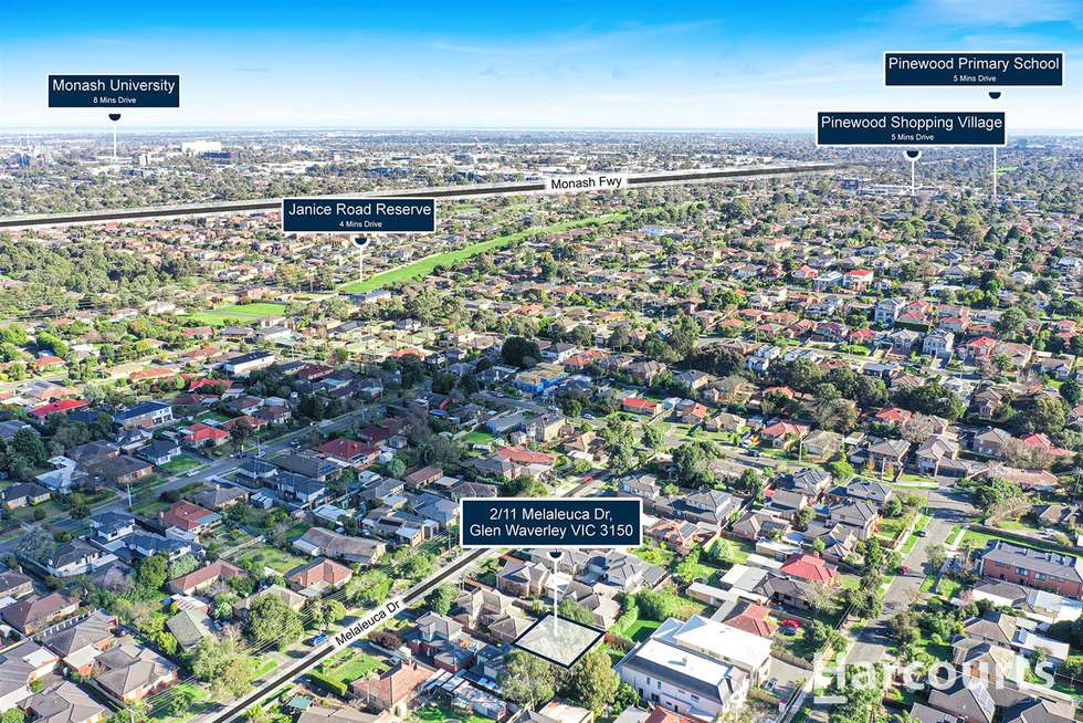 Second view of Homely unit listing, 2/11 Melaleuca Drive, Glen Waverley VIC 3150