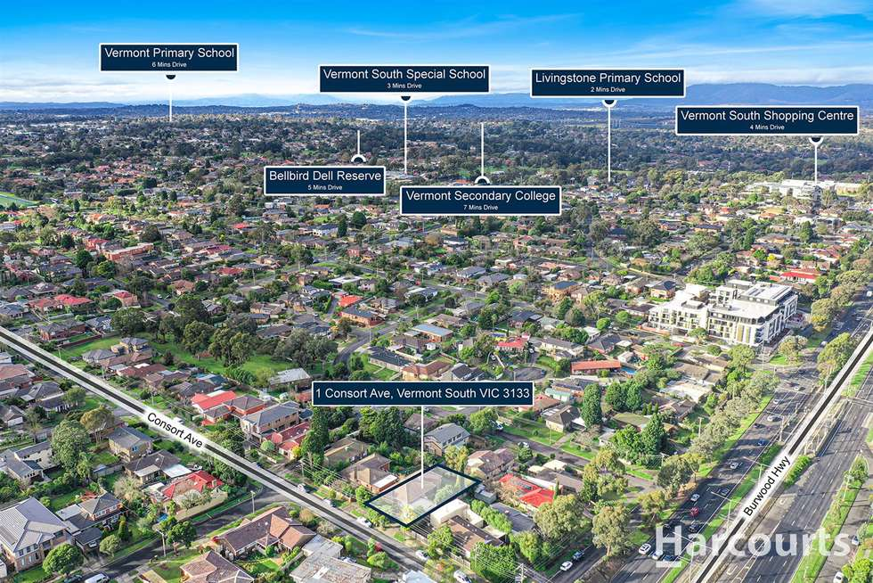 Second view of Homely house listing, 1 Consort Avenue, Vermont South VIC 3133