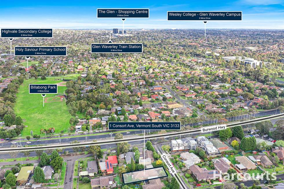 Third view of Homely house listing, 1 Consort Avenue, Vermont South VIC 3133
