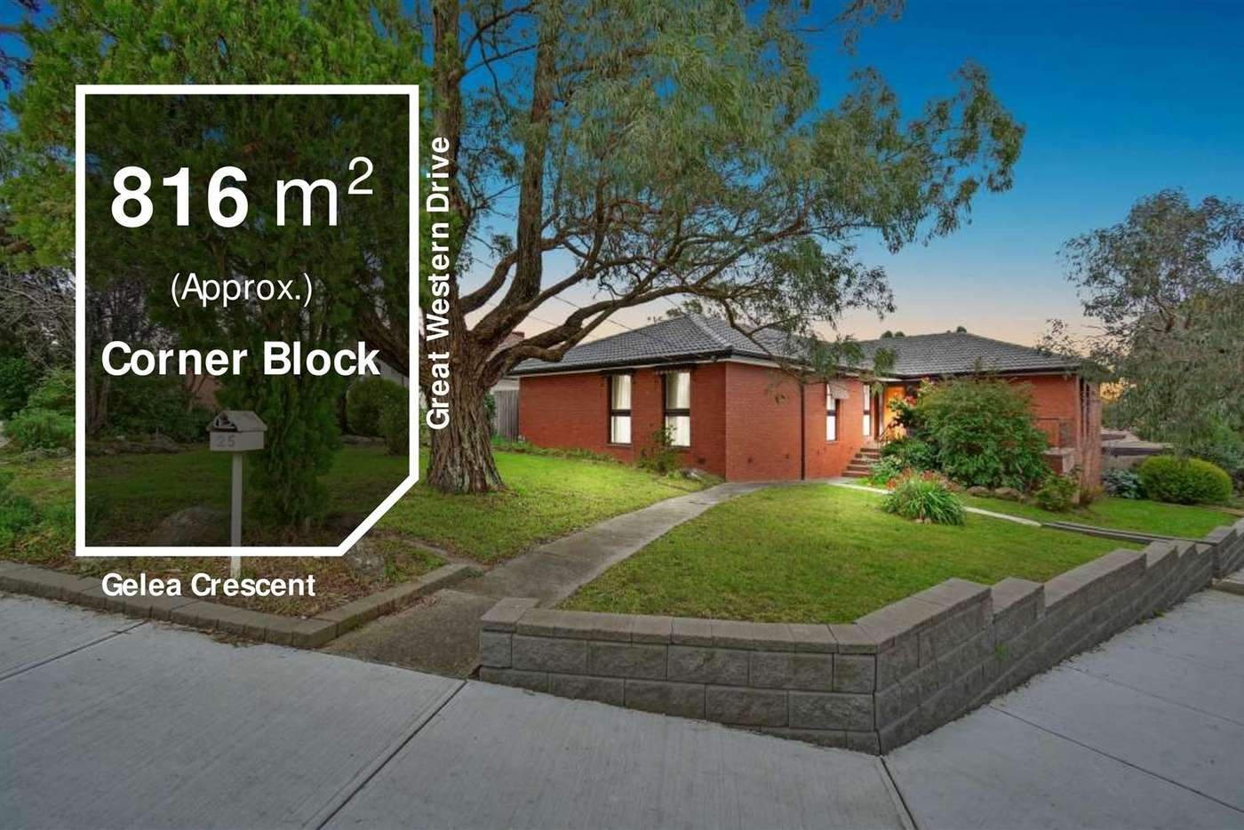 Main view of Homely house listing, 25 Gelea Crescent, Vermont South VIC 3133