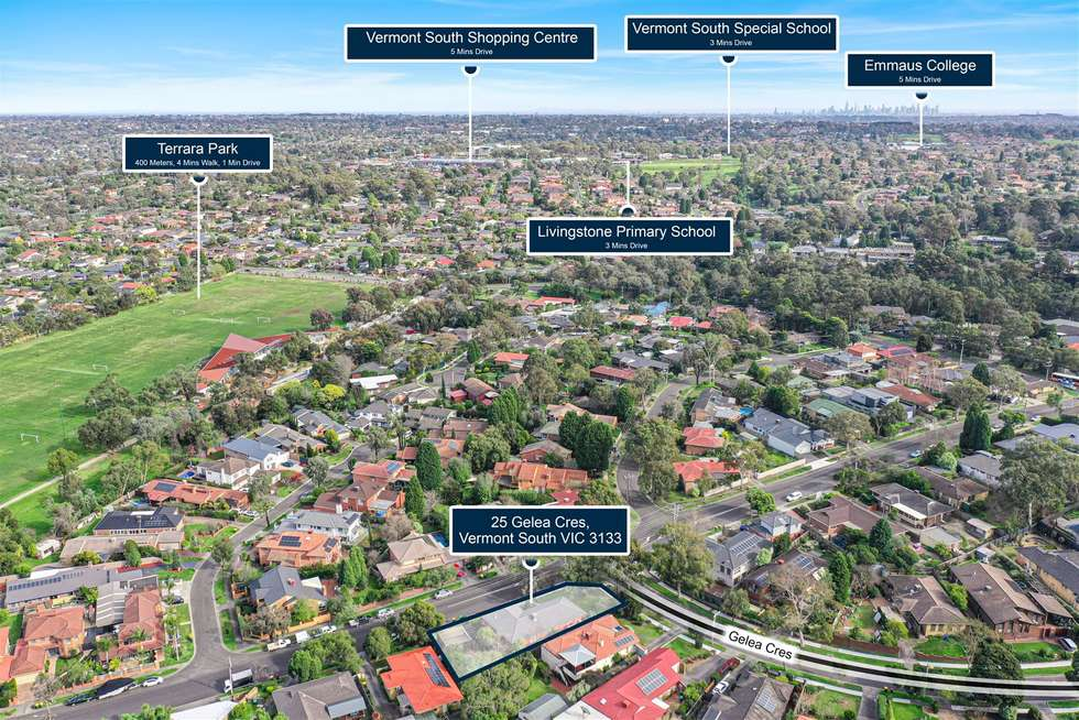 Third view of Homely house listing, 25 Gelea Crescent, Vermont South VIC 3133